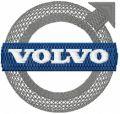 Volvo Logo embroidery design
