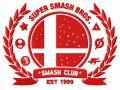 Smash club logo embroidery design