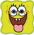 SpongeBob Smile 2 embroidery design