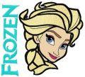 Elsa 3  embroidery design