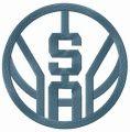 San Antonio Spurs one-colored logo embroidery design