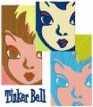 Tinker Bell collage embroidery design
