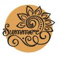 Summer 2 embroidery design