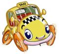 Willy the taxi embroidery design