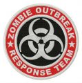 Zombie Outbreak Response Team logo embroidery design