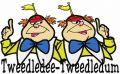 Tweedledee and Tweedledum 3 embroidery design