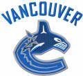 Vancouver Canucks logo embroidery design