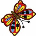 Simple Butterfly embroidery design