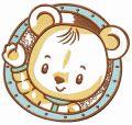 Bear astronaut embroidery design