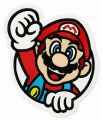 We did it Mario embroidery design