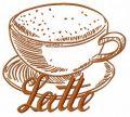 Latte 3 embroidery design