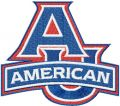 American University Logo embroidery design