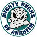 Anaheim mighty duck embroidery design