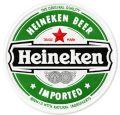 Heineken Beer round logo embroidery design