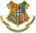 Coat of arms of Hogwarts embroidery design