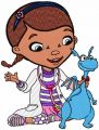 McStuffins and Stuffy 2 embroidery design