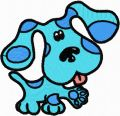 Blues Clues 1  embroidery design