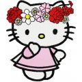 Kitten Spring embroidery design
