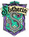 Slytherin emblem embroidery design