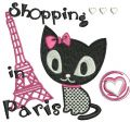 Shopping in Paris 2 embroidery design