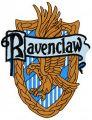 Ravenclaw emblem embroidery design
