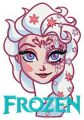 Strange Elsa 6 embroidery design