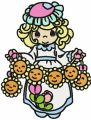 Precious Moments Sun Holiday embroidery design