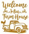 Welcome to our farm house embroidery design