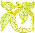 Limon Applique embroidery design