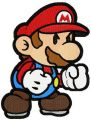 Super Mario angry embroidery design