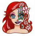 Fancy Ariel embroidery design