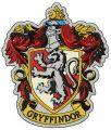 Gryffindor emblem embroidery design