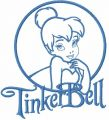 Tinkerbell 26 embroidery design