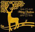 Christmas deer 2 embroidery design