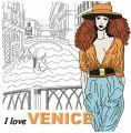 I love Venice embroidery design