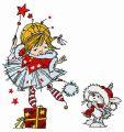 I'm Christmas fairy embroidery design
