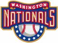 Washington Nationals logo embroidery design