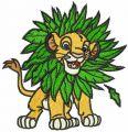 Jungle game embroidery design