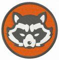 Rocket Raccoon Avengers embroidery design