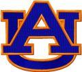 Auburn University Athletic Logo embroidery design