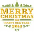Christmas 2014 embroidery design