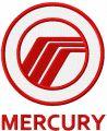 Ford Mercury logo embroidery design
