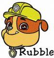 Rubble 1 embroidery design