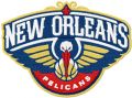 New Orleans Pelicans logo embroidery design