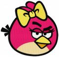 Angry Birds Red embroidery design