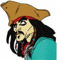 Jack Sparrow  embroidery design
