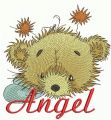 Teddy bear fairy 5 embroidery design