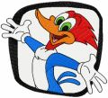 Woody Woodpecker embroidery design