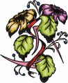 Elegant Flower embroidery design