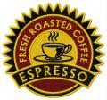 Espresso badge embroidery design